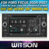 Witson Car DVD voor GPS 1080P DSP Capactive Screen WiFi 3G Front DVR Camera van Ford Focus 2005-2007 Car DVD