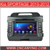 KIA Sportage 2010-2012년 (AD-8902)를 위한 A9 CPU를 가진 Pure Android 4.4 Car DVD Player를 위한 차 DVD Player Capacitive Touch Screen GPS Bluetooth