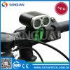 Wasserdichte nachfüllbare CREE Xm-L2 18650 ultra Fahrrad-Leuchte