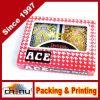 H. Schede di gioco della mazza di qualità con la plastica di lusso dell'asso 100% dell'insieme completo di 2 colori (430116)