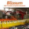 Automatisch Plastic Heet Vruchtesap 3 van de Fles in-1 het Vullen Verpakkende Machine