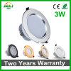 Éclairage domestique Fog-Proof 3W Downlight LED SMD5730