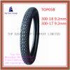 300-18 der langen Lebensdauer-300-17 Reifen Superqualitätsnylondes motorrad-6pr