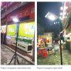 Mini iluminación de la calle al aire libre solar del LED en el mercado nocturno, Jardín, Patio