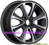 o alumínio 14*5j orlara a roda da liga do carro da réplica para Hyundai