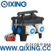 Caso elettronico di plastica impermeabile di sistema di chiusura della casella di progetto Qixing