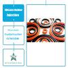 Guarnizione personalizzata della gomma del macchinario industriale dei ricambi auto dell'iniezione della gomma di silicone