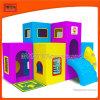 Equipamentos de playground coberto de plástico para crianças para divertimento