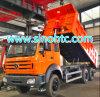 El precio bajo buenas condiciones Utiliza Beiben volquete Camión Volquete 6X4 340HP con tecnología Mercedes Benz