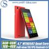 4.7 인치 Qhd Mtk6582 Quad Core 3G Dual SIM Cell Phone Companies (D5)