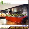 De oranje Tellers van het vierkant-Muntstuk voor Voedsel en Wijn in het klein ver*kopen-F10162