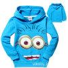 子供の衣服のHoodiesの子供のズボンのFullsleevedのオーバーコートのジーンズの女の子のブランドの冬は長持ちする