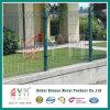 La frontière de sécurité/qualité soudées par courbures triangulaires de treillis métallique déplie la frontière de sécurité de treillis métallique de jardin