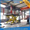 A plataforma dobro Scissor o tipo máquina do elevador do elevador do carro do estacionamento para a venda