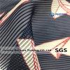 10s пряжи Organza полосы ткани для мода одежды