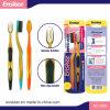 Toothbrush adulto com as cerdas delgadas & macias 2 em 1 bloco 809 da economia