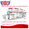 Máquina que lamina seca de la Solvente-Base de la serie de Qdf para la película plástica