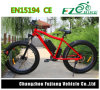 bici eléctrica gorda del rango largo del neumático de la aleación del Al de 48V 500W