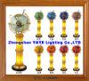 Hete Yaye 18 verkoopt de Bol van de Halfedelsteen van de Verlichting van de Lamp van de Vloer/de Bol van de Halfedelsteen met de Bol van de Wereld van de Verlichting met Verlichting
