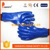 Gant fonctionnant bleu Dpv506 de PVC
