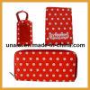 Поездках полный набор PU бумажник и владелец паспорта тег багажного отделения