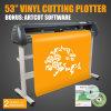 Новый 53 виниловый резак Artcut режущей плоттер машины с помощью программного обеспечения