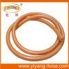 Boyau à haute pression agricole orange de jet de PVC