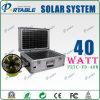 SolarStromnetz 40W für Beleuchtung und Haushaltsgerät (PETC-FD-40W)