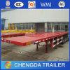 Neuer und verwendeter 3 Flachbett-Schlussteil der Wellen-40FT für Behälter-Transport