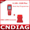 X-100+ original X100 Plus Auto Key Programmer Plus OBD2 16pin Connector