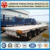 Ctsm 3-Axles Luft-Aufhebung-Behälter-Transport Lowbed halb Schlussteil