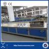 Lopende band van het Profiel van de Pijp van pvc de Houten Plastic