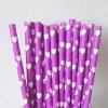 Пурпуровые сторновки бумаги печатание сердца цвета на день Valentine