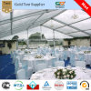 Folded Table와 400 People Seated를 위한 Chair를 가진 여가 Transparent Wedding Reception Tent 20x30m