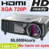Beweglicher Projektor HD Ready-Heimkino LCD-LED
