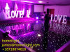 Беспроволочная дистанционная танцевальная площадка белизны СИД мерцая Starlit для выставки этапа венчания