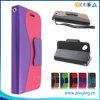 Роскошные бумажник ID держатели кредитных карт Flip чехол из натуральной кожи для дисков Blu тире Jr K D141k