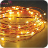 A decoração do casamento mini personaliza a luz da corda do fio de cobre do diodo emissor de luz
