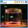 Runde Form-Fall-Typ Wasserfall Wasser-Vorhang-Brunnen-Digital-LED
