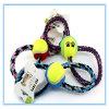 ペット製品のトイドッグのトレーニングのかみ傷のおもちゃへのモルの歯の綿ロープの球の抵抗