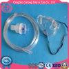 Máscara de oxígeno médica del nebulizador de la máscara del venturi