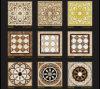 100X100映像(C1616-01H)が付いている大理石パターン床デザインタイル