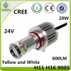 LED de alta potencia luz antiniebla coche