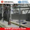 Máquina de revestimento eletrostática do pó para as seções de aço e de alumínio