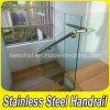 Los racores de acero inoxidable 304 Cristal de barandilla de escalera