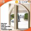 Feste hölzerne Innentür und eingehängte Türen, Nizza Aussehen-hölzerne französische Tür für Balkon und Terrassen