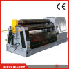 W12 máquina de dobra hidráulica do rolamento da placa de aço do rolo da série 4
