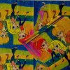 世帯党Servietteのティッシュの習慣によって印刷される紙ナプキン