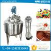 Crema de chocolate líquido//depósito mezclador mezclador emulsificador con homogeneizador