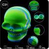 De nouveaux tuyaux de gros fumeurs Jar 500ml contenant du crâne en silicone de la FDA